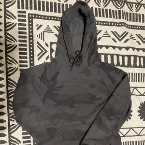 Abercrombie and Fitch charcoal grey hoodie
